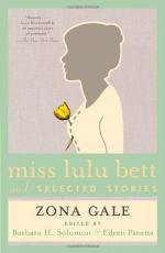Miss Lulu Bett by Zona Gale