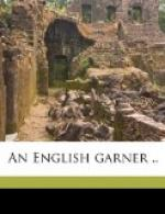 An English Garner by