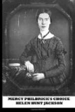 Mercy Philbrick's Choice by Helen Hunt Jackson