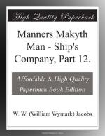 Manners Makyth Man by W. W. Jacobs