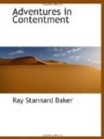 Adventures in Contentment by Ray Stannard Baker