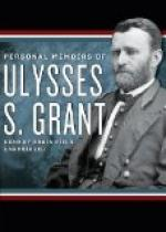 Personal Memoirs of U. S. Grant — Volume 1 by Ulysses S. Grant