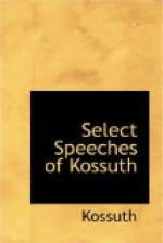 Select Speeches of Kossuth by