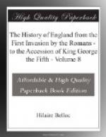 The History of England from the First Invasion by the Romans by Hilaire Belloc