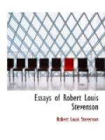 Essays of Robert Louis Stevenson by Robert Louis Stevenson