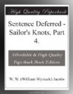 Sentence Deferred by W. W. Jacobs