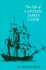 The Life of Captain James Cook by