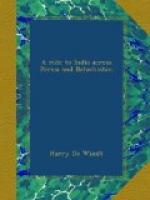 A Ride to India across Persia and Baluchistán by Harry de Windt