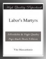 Labor's Martyrs by Vito Marcantonio
