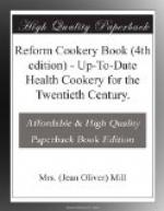 Reform Cookery Book (4th edition) by