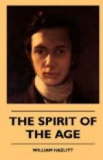 The Spirit of the Age by William Hazlitt