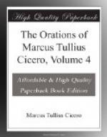 The Orations of Marcus Tullius Cicero, Volume 4 by Cicero