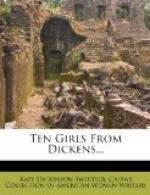 Ten Girls from Dickens by
