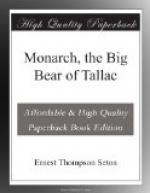 Monarch, the Big Bear of Tallac by Ernest Thompson Seton