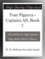 Four Pigeons by W. W. Jacobs