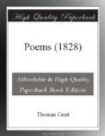 Poems (1828) by Thomas Gent