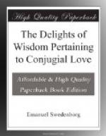 The Delights of Wisdom Pertaining to Conjugial Love by Emanuel Swedenborg
