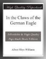In the Claws of the German Eagle by