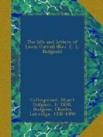 The Life and Letters of Lewis Carroll (Rev. C. L. Dodgson) by