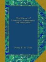 The Mirror of Literature, Amusement, and Instruction by