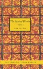 The Poetical Works of John Dryden, Volume 1 by John Dryden