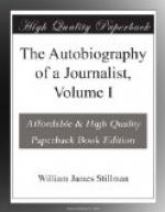 The Autobiography of a Journalist, Volume I by William James Stillman