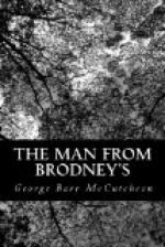 The Man from Brodney's by George Barr McCutcheon