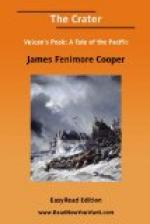 The Crater by James Fenimore Cooper
