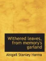 Withered Leaves from Memory's Garland by