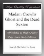 Madam Crowl's Ghost and the Dead Sexton by Sheridan Le Fanu