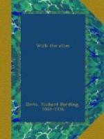 With the Allies by Richard Harding Davis