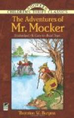 The Adventures of Mr. Mocker by Thornton Burgess