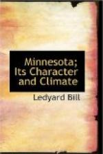 Minnesota; Its Character and Climate by