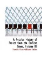 A Popular History of France from the Earliest Times, Volume 3 by François Guizot