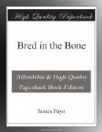 Bred in the Bone by James Payn