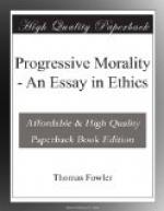 Progressive Morality by Thomas Fowler