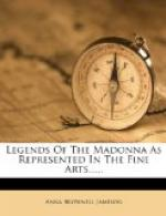 Legends of the Madonna by Anna Brownell Jameson