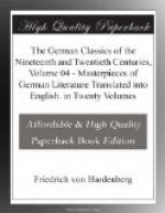 The German Classics of the Nineteenth and Twentieth Centuries, Volume 04 by