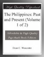 The Philippines: Past and Present (Volume 1 of 2) by