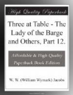 Three at Table by W. W. Jacobs