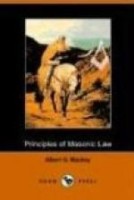 The Principles of Masonic Law by Albert G. Mackey