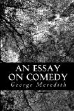 An Essay on comedy and the uses of the comic spirit by George Meredith