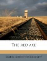 Red Axe by Samuel Rutherford Crockett