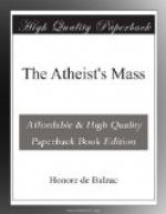 The Atheist's Mass by Honoré de Balzac