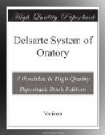 Delsarte System of Oratory by