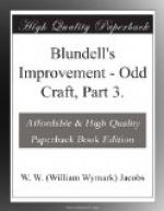 Blundell's Improvement by W. W. Jacobs