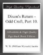 Dixon's Return by W. W. Jacobs