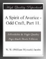 A Spirit of Avarice by W. W. Jacobs
