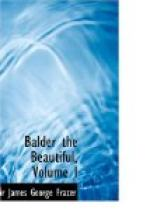 Balder the Beautiful, Volume I. by
