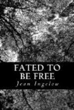 Fated to Be Free by Jean Ingelow